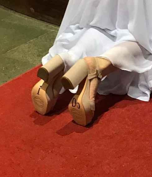 Detalle en zapatos