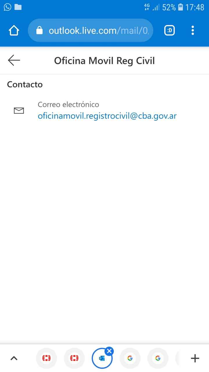 Registro Civil Movil - 1