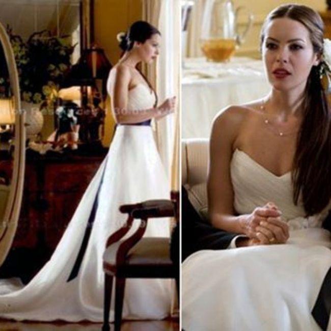 ¿Inspirarías tu look en el de una novia de película? 1