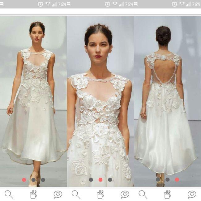 Vestidos para novias con kilitos extras 👰 13