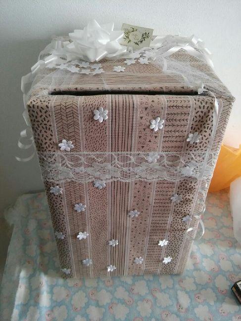 caja para los sobres !! 🎁 1