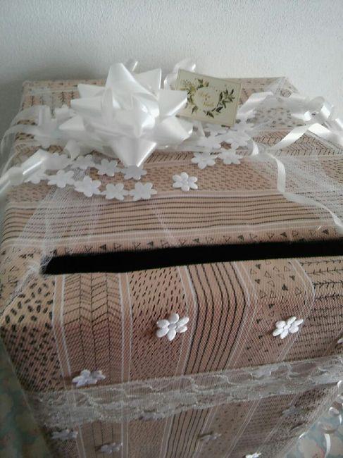 caja para los sobres !! 🎁 2