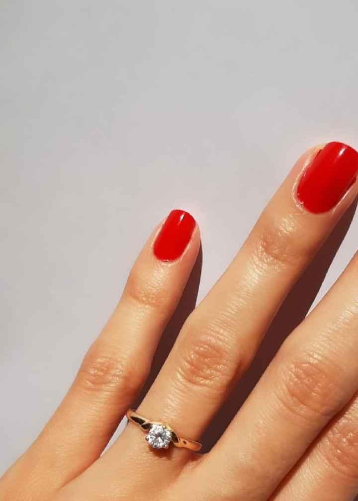 ¿Tenés foto de tu anillo de compromiso? - 1