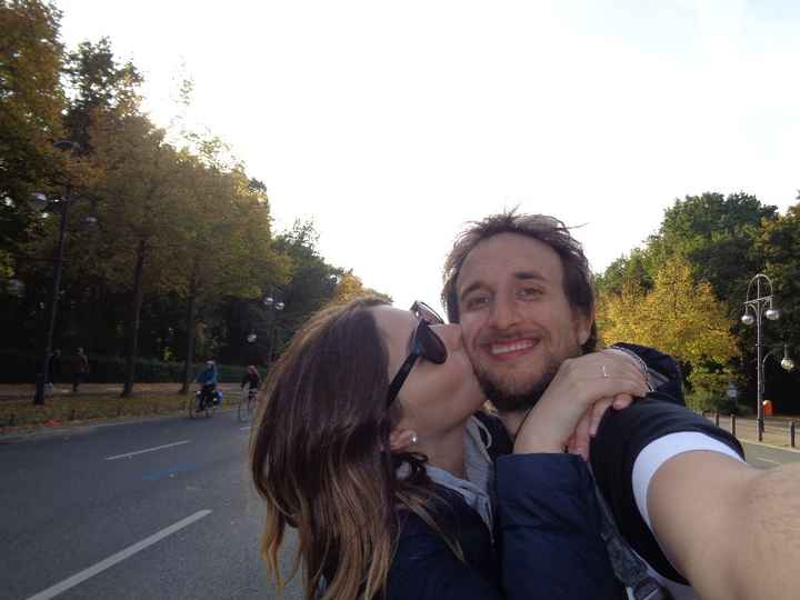 Felicidad pura compartir mi vida con el...día internacional del beso!