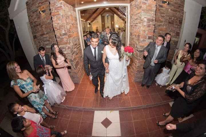 Recién casados por iglesia