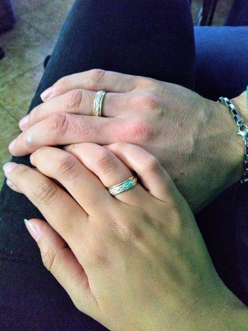 ¿Hubo anillo el día que se comprometieron? 3