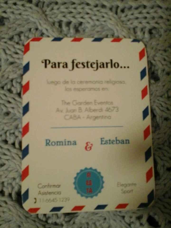 Al fin!!!!...nuestras invitaciones!!! - 2