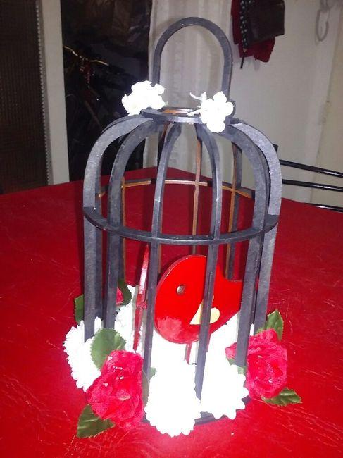 Ramo..,adorno torta....letras gigantes(ayudaaaaa )  centro de mesa, canasta para anillos... - 3