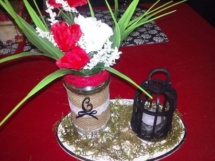 Ramo..,adorno torta....letras gigantes(ayudaaaaa )  centro de mesa, canasta para anillos... - 9