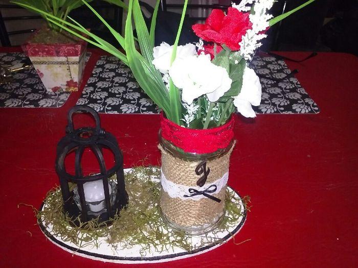 Ramo..,adorno torta....letras gigantes(ayudaaaaa )  centro de mesa, canasta para anillos... - 10