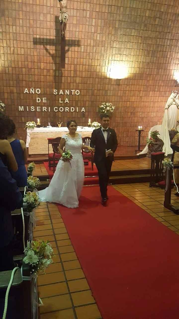 Fin de la ceremonia