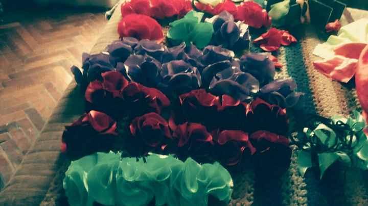 Vinchas de flores- paso a paso - 19
