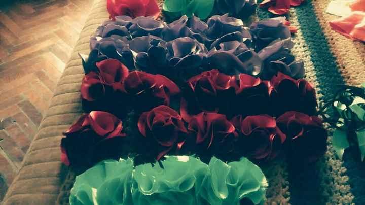 Vinchas de flores- paso a paso - 20