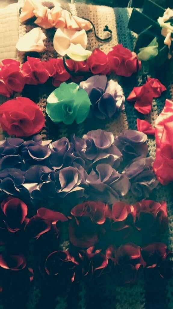 Vinchas de flores- paso a paso - 21