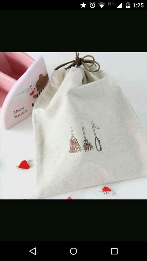 Bolsas de tela para invitados - 1