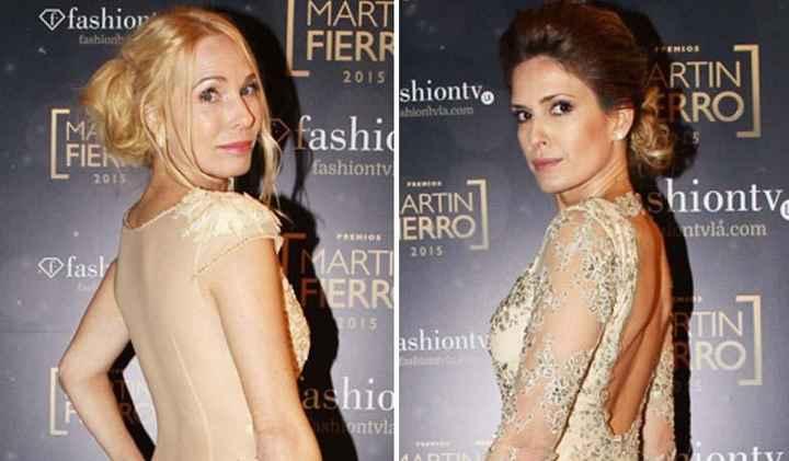 Looks de novia en los martin fierro 2015: el peinado - 1