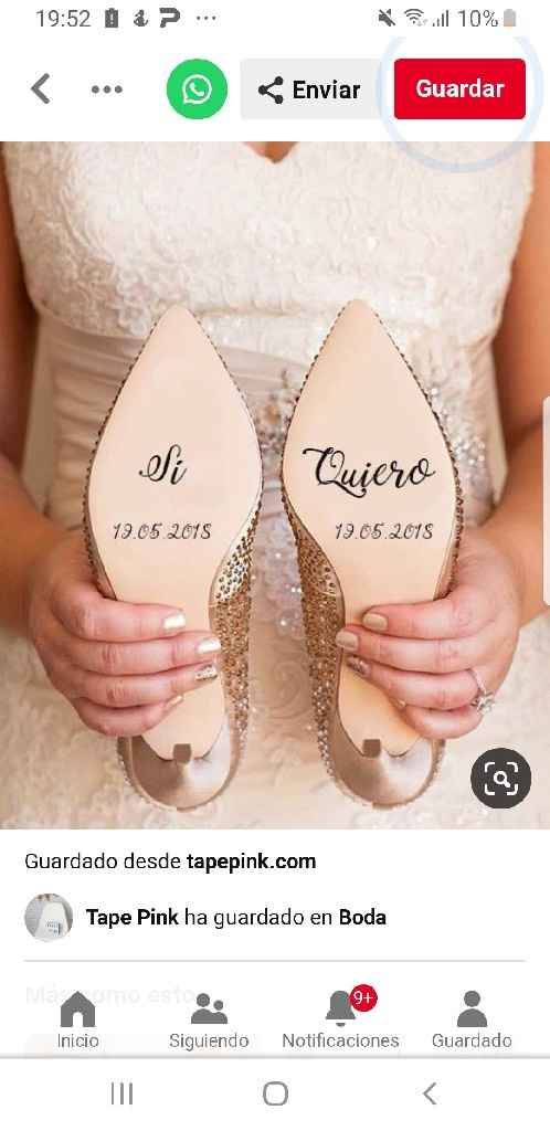Cuál frase elijo para los zapatos?? - 1