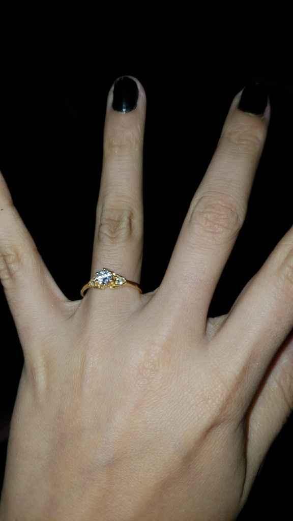 ¿De qué color es tu anillo de compromiso? - 1