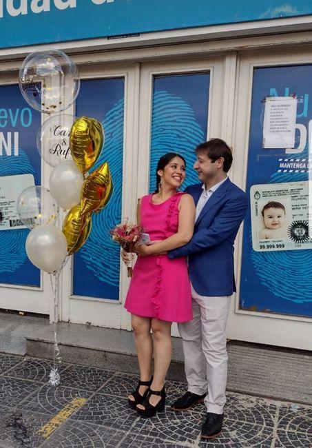 Casada hace 51 dias!! Look civil!! 1