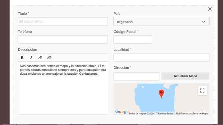 Como agrego un mapa con ubicación gps?? - 6
