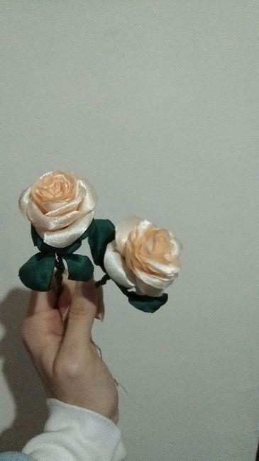 Ramo flores de tela o naturales? 3