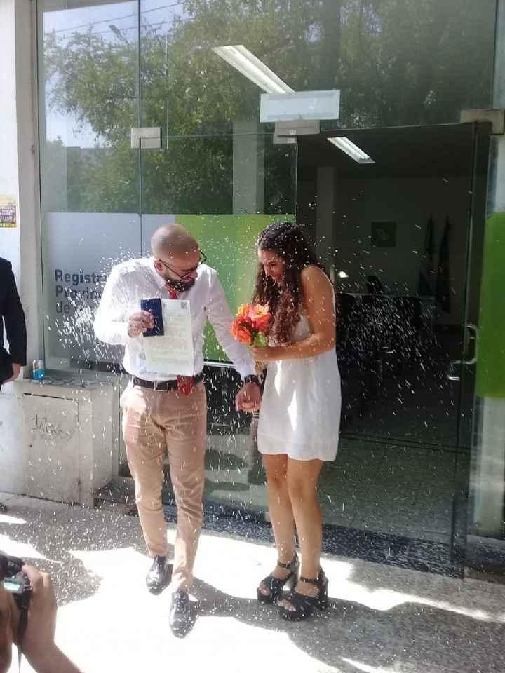 Oficialmente casados! 🥰🎉 - 1