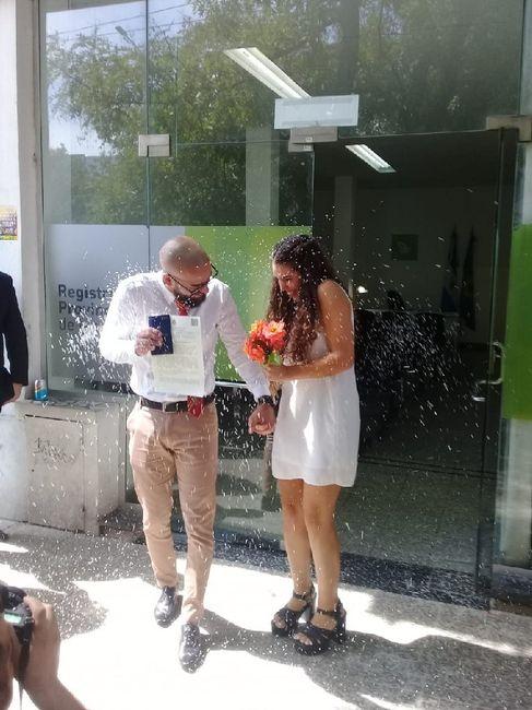 Oficialmente casados! 🥰🎉 1