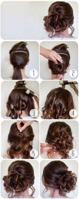 ¡Peinados sencillos para el Civil!😍 6