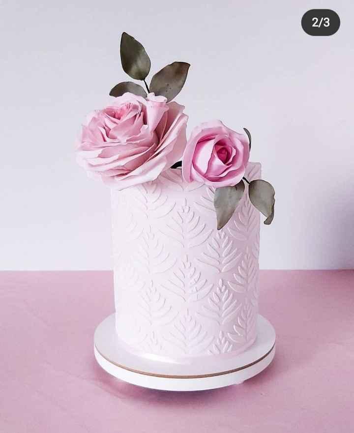 Torta de casamiento 🤔 - 2