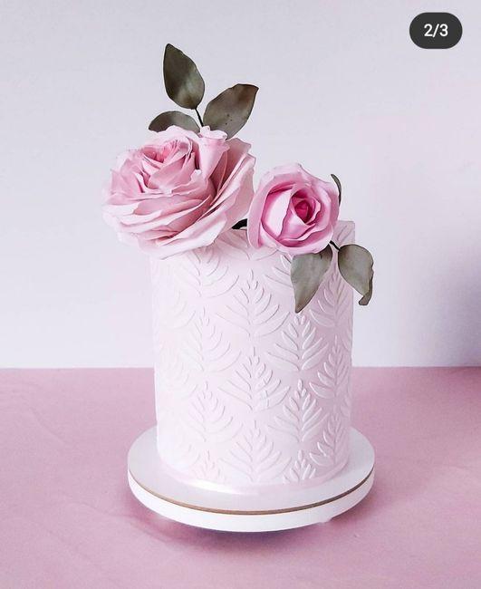 Torta de casamiento 🤔 4