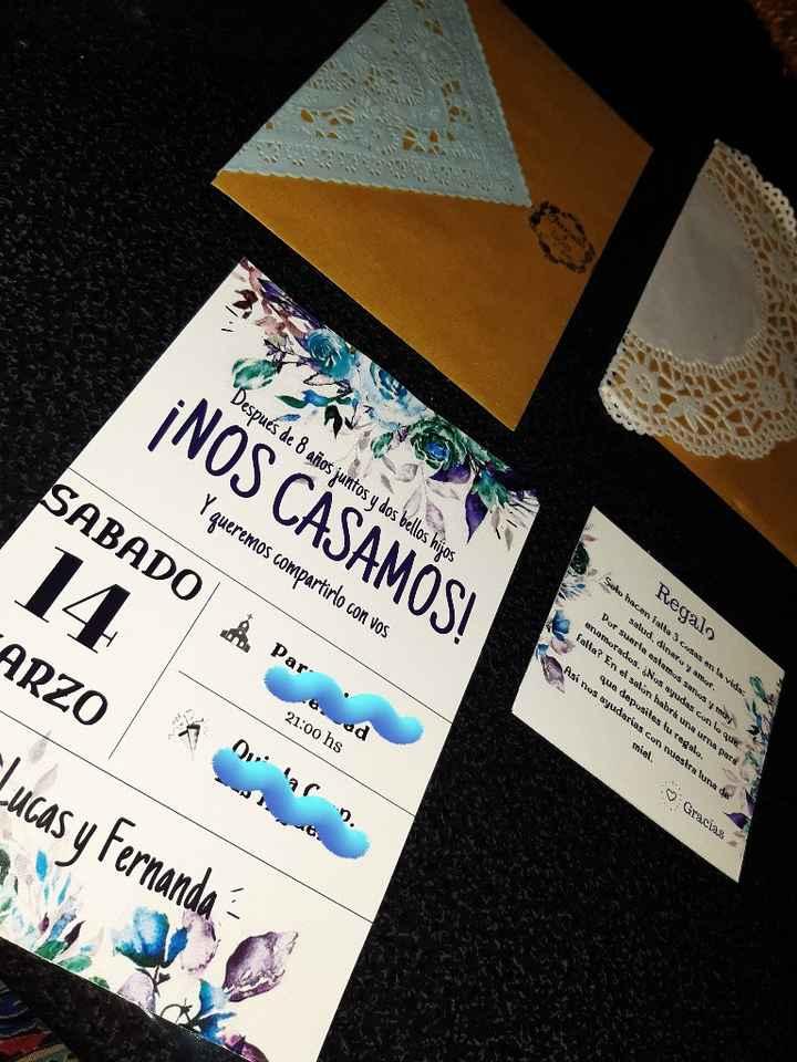Listas las tarjetas - 1