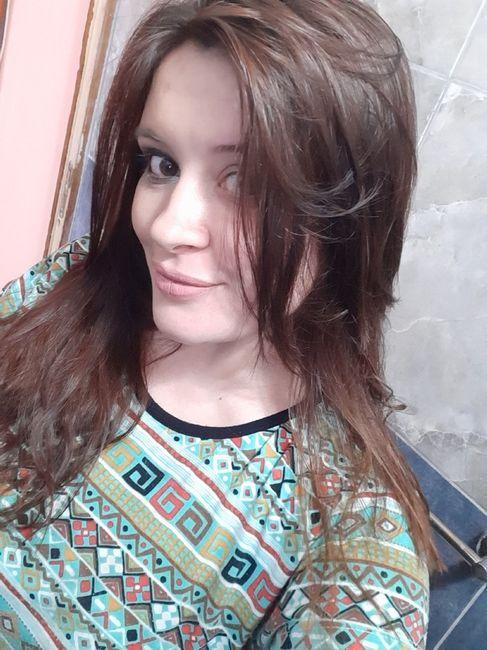 Ayer, prueba de maquillaje y peinado 🥰 2