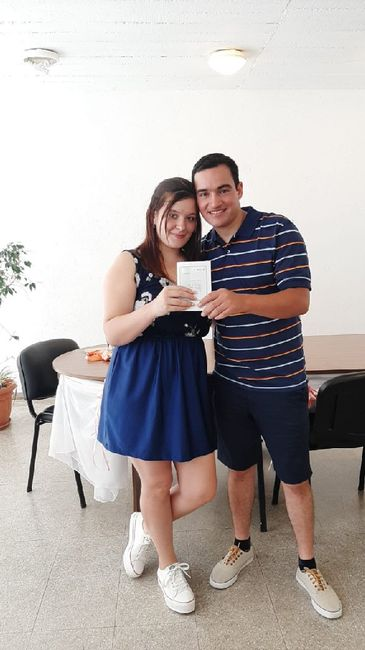 Ya casados ❤️ - 1
