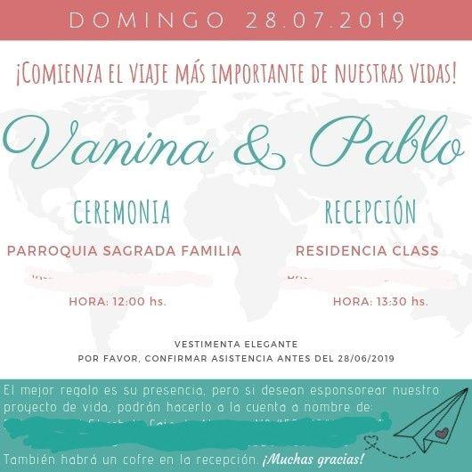 Aquí nuestras invitaciones!!! 1