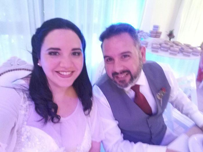 Felizmente casados ante Dios 💍💜 2