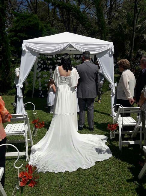 Felizmente casados ante Dios 💍💜 6