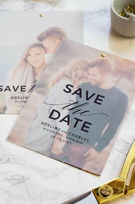 Invitaciones - Save the date ? 4
