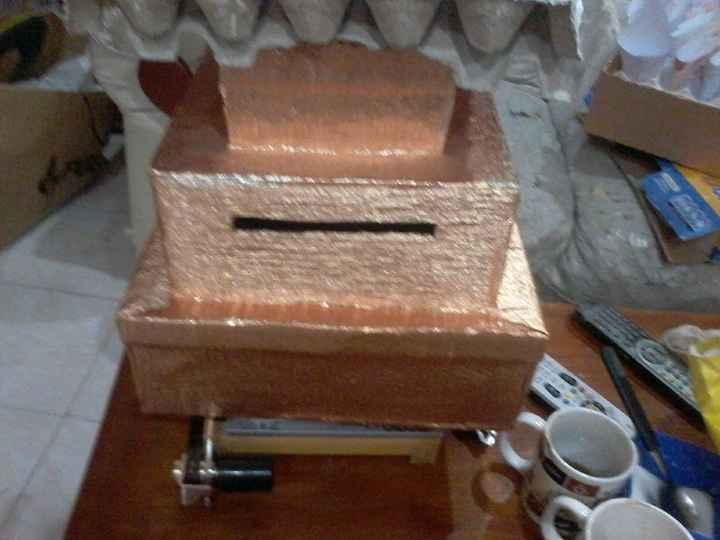 la caja para los regalos