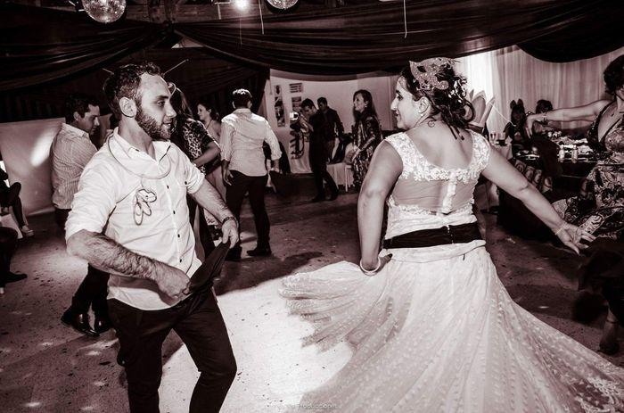 bailando una zamba