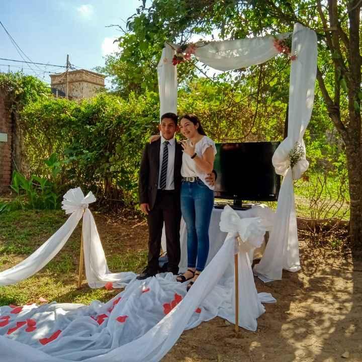 Oficialmente comprometidos!!💍💍😊 - 2