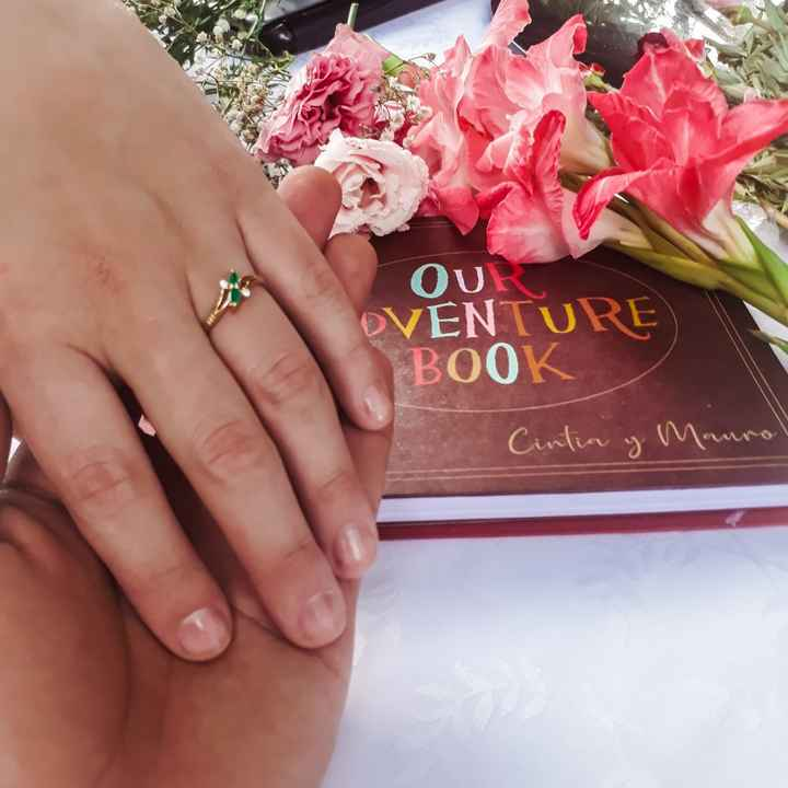 Oficialmente comprometidos!!💍💍😊 - 4