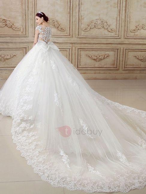 Vestidos de novia glamorosos