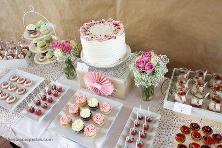 Mesa dulce fotos - Decoracion de mesas cumpleanos adultos ...