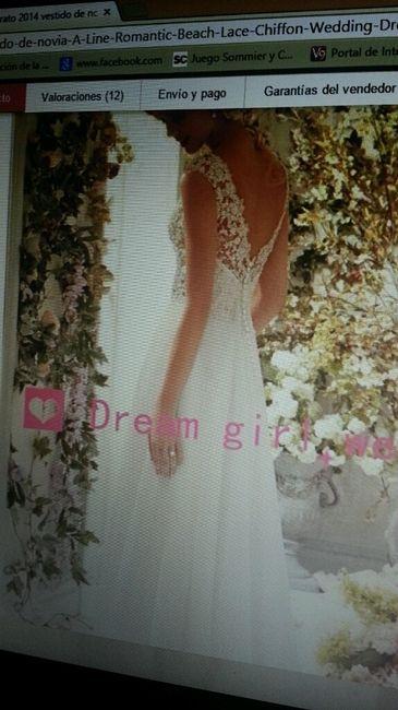 Precios de telas para el vestido - 2