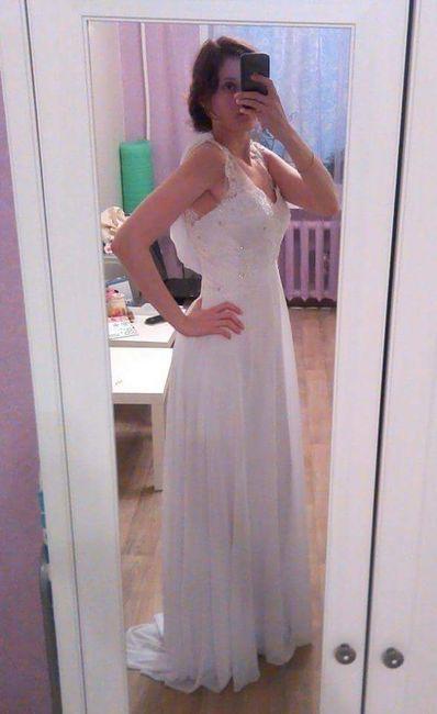 Precios de telas para el vestido - 1