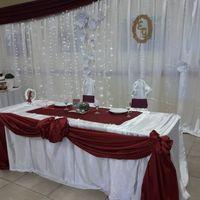 Mesa dulce, mesa principal adornos y mesa de souvenir de mi fiesta 26 de Abril - 2
