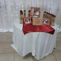 Mesa dulce, mesa principal adornos y mesa de souvenir de mi fiesta 26 de Abril - 4