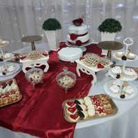 Mesa dulce, mesa principal adornos y mesa de souvenir de mi fiesta 26 de Abril - 5