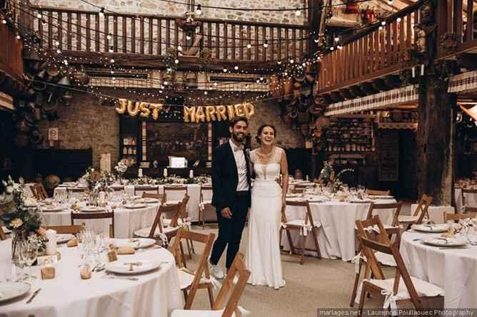 lugar de celebración del casamiento