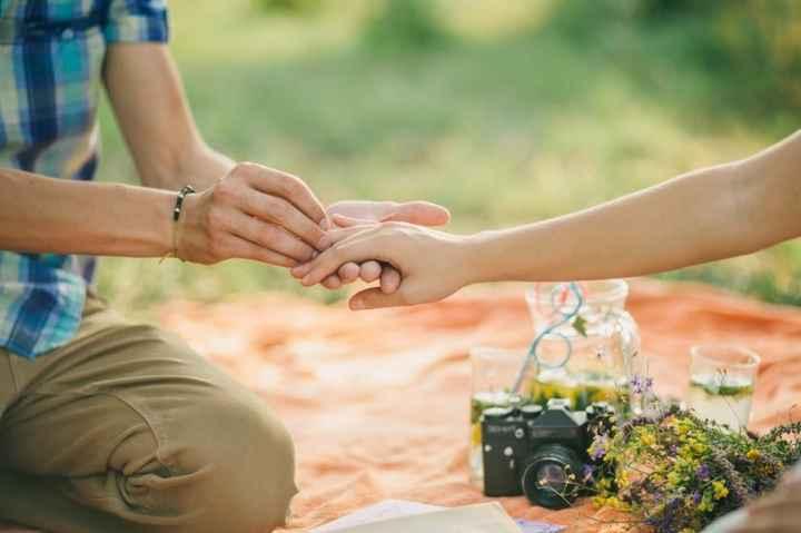 pedida de casamiento